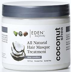 EDEN BodyWorks Coconut Shea Hair Masque Treatment