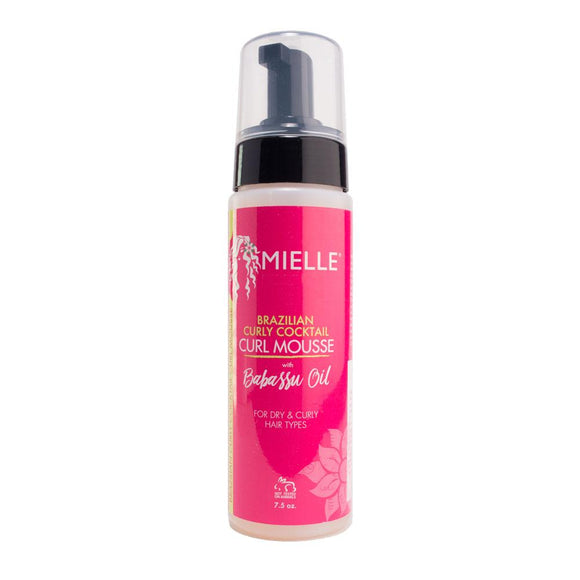Mielle Organics Brazilian Curly Cocktail Curl Mousse