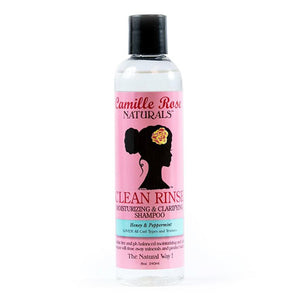 Camille Rose Naturals Clean Rinse Moisturizing and Clarifying Shampoo