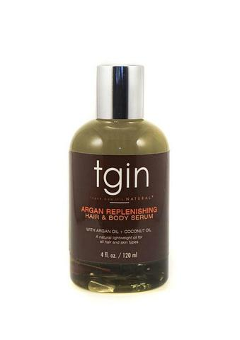 Tgin Argan Replenishing Hair and Body Serum