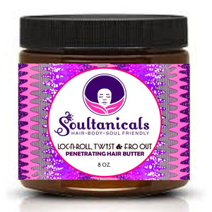 Soultanicals Loc N Roll Twist & Fro Out Berry Cute Yummy Fruit Flava