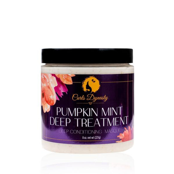 Curls Dynasty Pumpkin Mint Deep Treatment