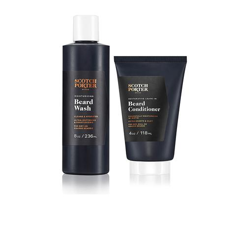 Scotch Porter Beard Wash and Leave In Conditioner