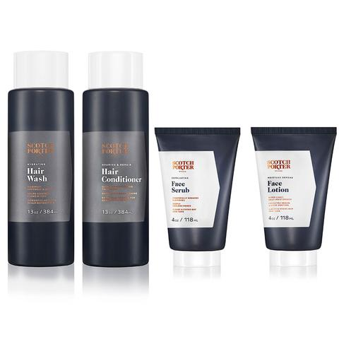 Scotch Porter Essential Hair & Face Collection