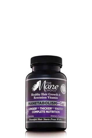 The Mane Choice Manetabolism Plus Healthy Hair Growth & Retention Vitamins