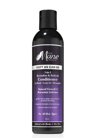 The Mane Choice Soft As Can Be Revitalize & Refresh 3-in-1 Co-Wash, Leave In, Detangler