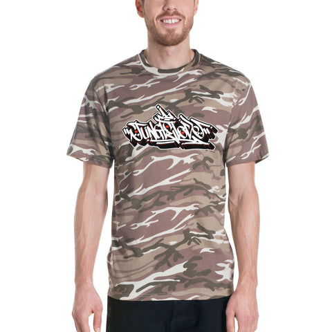 Junglist King Camouflage t-shirt