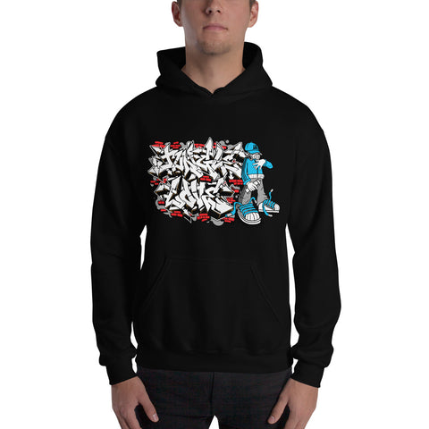 Jungle Love Wild Style B-Boy Hoodie