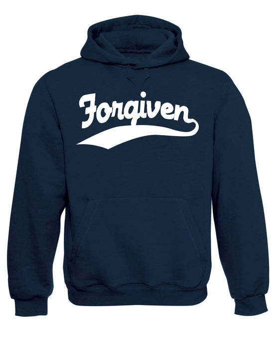 Forgiven Hoodie God Command Jesus Christ Christian Sweatshirt