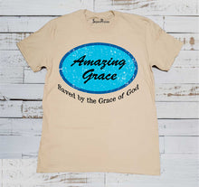 Amazing Grace Gospel Christian Beige T Shirt