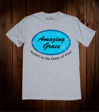 Amazing Grace Gospel Christian Grey T Shirt