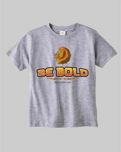 Be Bold As Lion Proverb 28 Religious Jewish Christian Kids T shirt