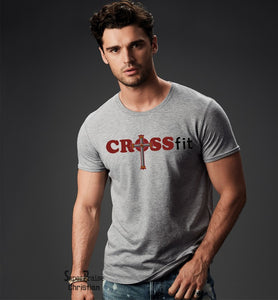 Crossfit Christian Cross Religious T-shirt - Super Praise Christian