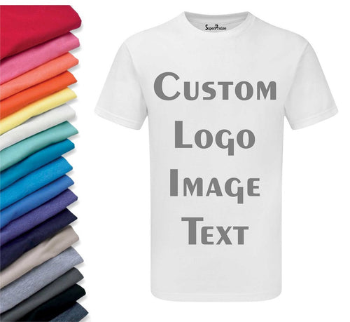 Custom Men Adult Tee Shirt