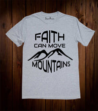 Faith Can Move Mountain Prayer T Shirt
