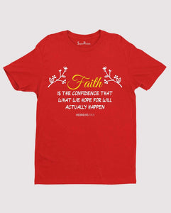 Christian Jesus T Shirt Faith Is Inspiration gift tee