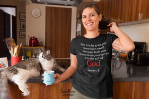 Christian Women T Shirt It Is the Gift Of God