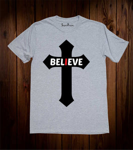 Believe Cross T-Shirt