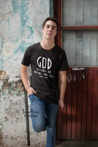 God is Within her She will not fall Psalm 46:5 scriptures Christmas T shirt - SuperPraiseChristian