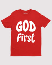God First 1st the Father in Heaven Gospel Christian T shirt