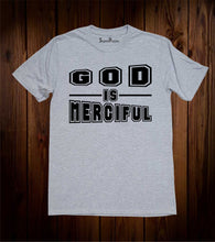 God Is Merciful Salvation Repent Christian Grey T Shirt