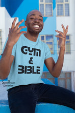 Gym And Bible Jesus Christ Christian T Shirt - Super Praise Christian