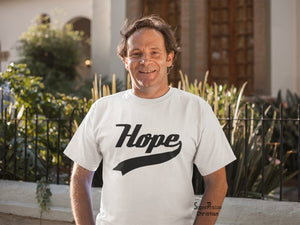 Hope Slogan Text Brand Religious Change The Word Christian T shirt - Super Praise Christian