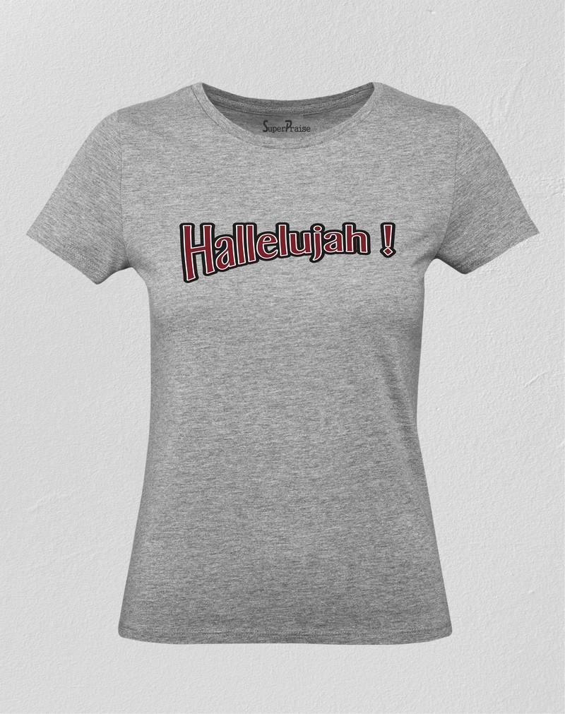 Christian Women T Shirt Hallelujah Heavenly Song