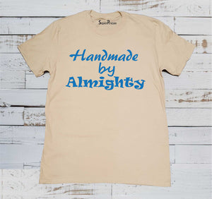 Homemade By Almighty Christian Beige T-shirt