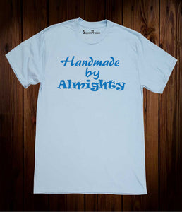 Homemade By Almighty Christian Sky Blue T-shirt