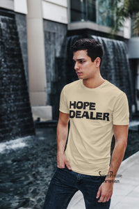 Dealer Faith Slogan Christian T Shirt - Super Praise Christian