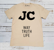 JC Way Truth Life Jesus Christ Christian T-shirt