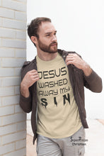 Jesus My Sins Washed Away Christian T Shirt - SuperPraiseChristian