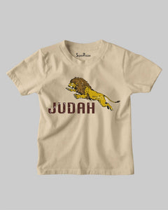 The Lion of Judah Strength Power King Jesus Christ Christian Kids T Shirt