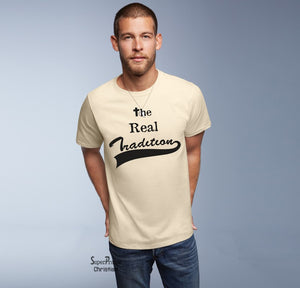 Jesus The Real Tradetcon Christian T Shirt - SuperPraiseChristian