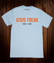 Jesus Freak Yes! I Am Christian Sky Blue T Shirt