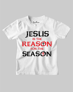 Jesus is the Reason for the Season Christian T Shirt