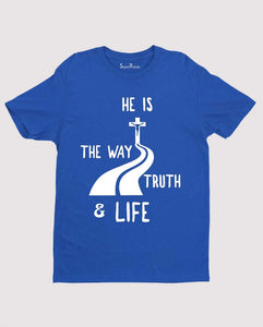 Jesus is the Way Truth And Life John 14:6 Christian T shirt