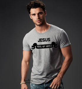 Jesus King of Power Christian T Shirt - SuperPraiseChristian