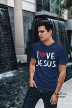 Love Jesus Cross Symbal Christian T Shirt - SuperPraiseChristian