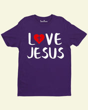 Love Jesus Cross Symbol Christian T Shirt