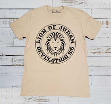 Lion of Judah Revelation Christian Beige T Shirt