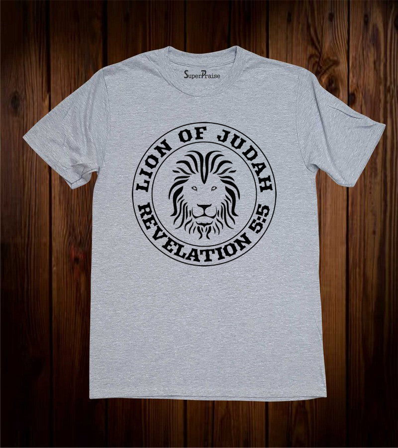 Lion of Judah Revelation 5:5 T Shirt