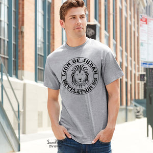 Lion of Judah Revelation Christian T Shirt - SuperPraiseChristian