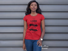 Christian Women T Shirt Lord Is My Salvation