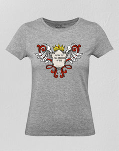 Christian Women T shirt Put On The Full Armour of God Ladies tee