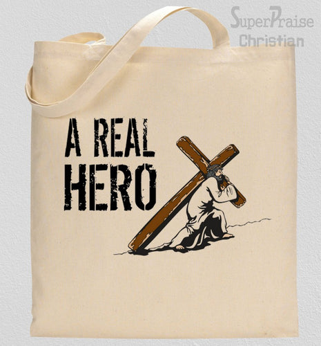 A Real Hero Tote Bag