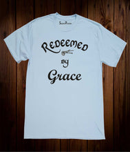 Redeem By Grace Jesus Christian Sky Blue T Shirt