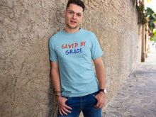 Saved By Grace Jesus Christ God's Love Christian T Shirt - Super Praise Christian