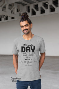 the Day Psalm 118:24 Christian T Shirt - Super Praise Christian